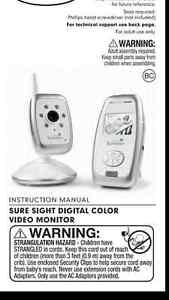 Baby extra monitor Camera and latches Kitchener / Waterloo Kitchener Area image 2