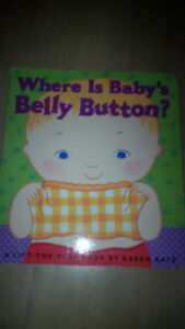 Where is Baby's Belly Button Board Book