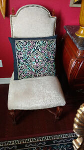 Ornate Bombay Company Dining Chair