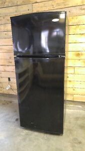 Black Whirlpool 18 cu ft Fridge - Delivery Available