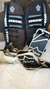 Child goalie skates
