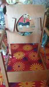 Vintage Child's Wooden Folding Training Potty Chair St. John's Newfoundland image 2