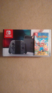 Nintendo Switch (with receipt)