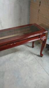 Table console et tablette murale en marbre