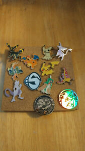 Pokemon pins x10