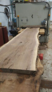 Custom Live Edge Planing and Sanding