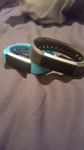 Two fitbit alta's! Barely used, good condition