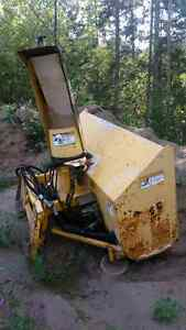 Skid steer Erskine snowblower Prince George British Columbia image 1
