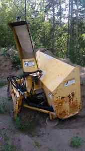 Skid steer Erskine snowblower