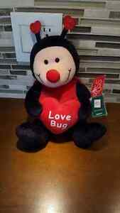 """Busby"" Plush stuffed Love Bug by Russ  12"""