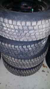 Goodyear Blizzak Winter Tires excellent cond low kms 215 60 r15 London Ontario image 1