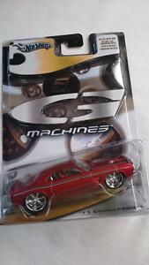 HOT WHEELS G MACHINES 1971 DODGE CHALLENGER RED MINT DIE CAST