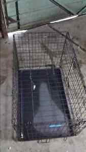 Large dog kennel. $50