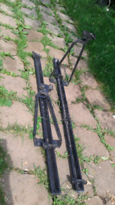 2 Support rack a velo thule