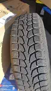 Two months used winter tires