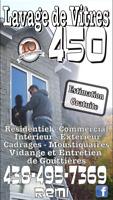 Lavage de vitres et vidanges de gouttière 438 495 7369