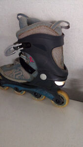 ladies rollerblades - size 9