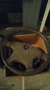 02 acura tl type s steering wheel and airbag