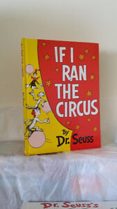 ▀▄▀If I Ran the Circus by Dr. Seuss Hardcover Large Book
