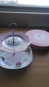 Cute Pink Tea Tray