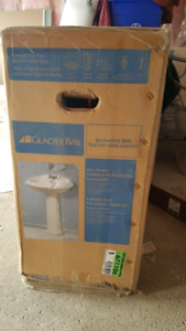Pedestal Sink - All in one Box- BRAND NEW