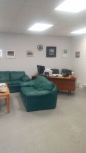 Quality Leather furniture and Desk