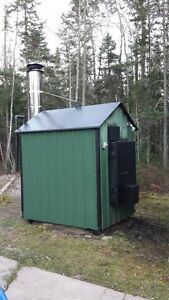 Outdoor wood Boiler