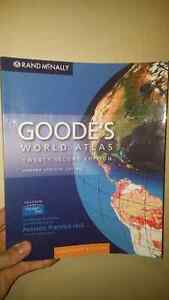 Goode's World Atlas Kitchener / Waterloo Kitchener Area image 1