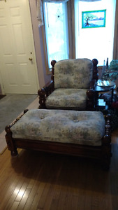 Big chair & ottoman