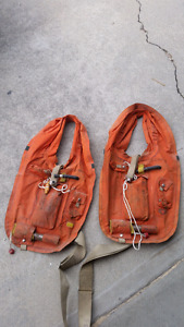 Vintage emergency lifevests