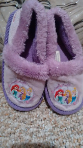 Princess Slippers size 9-10