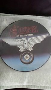 SAXON WHEELS OF STEEL PICTURE DISC VINYL