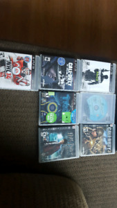 6 ps3 games all in good conditions