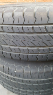 4 x Original 5 stud Toyota rims with 275/70/R16 Firestone tyres Scarborough Stirling Area Preview
