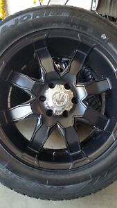 4 NEW ULTRA RIMS WITH NEW ANTARES M5 TIRES P275/55/20