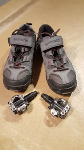 Bike Shoes and Quick Release Pedals