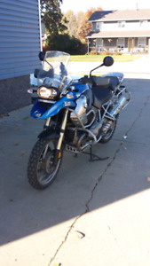 BMW R1200GS with many extras