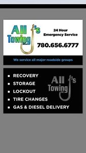 All J's Towing Inc