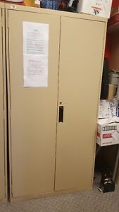 large metal 2 doors cabinets ( 3 of them)