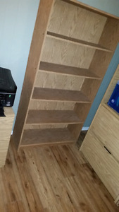 Beautiful solid bookcase. OBO!