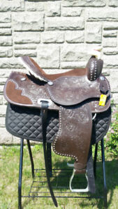 Western Horse Saddle & English Saddle