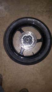 07 08 Honda cbr600rr rear wheel