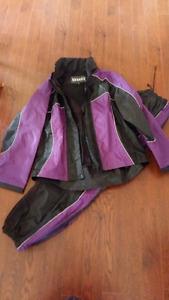 Ladies Motorcycle Rain Suit