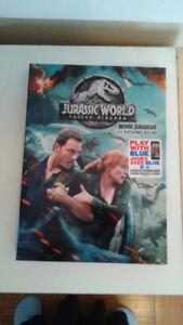 Newest Installment of Jurassic Park Fallen Kingdom 2018 DVD
