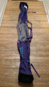 SALOMON - 1 paire - sac de ski 204 cm