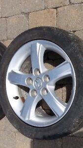 I need to buy only 1 Mazda wheel Mag jante roue