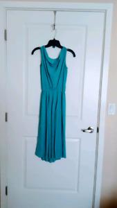XS Teal Dress