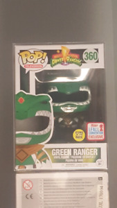Funko pop - Green Ranger GITD *Convetion Exclusive* SOLD