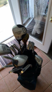 Ladies left handed golf clubs and bag