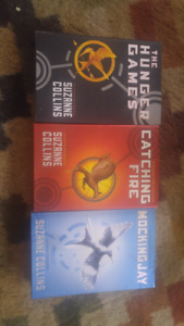 HUNGER GAMES TRILOGY +MOVIE